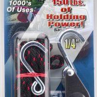 "1/4"" Rope Ratchet with 8' Heavy Duty Nylon Rope"