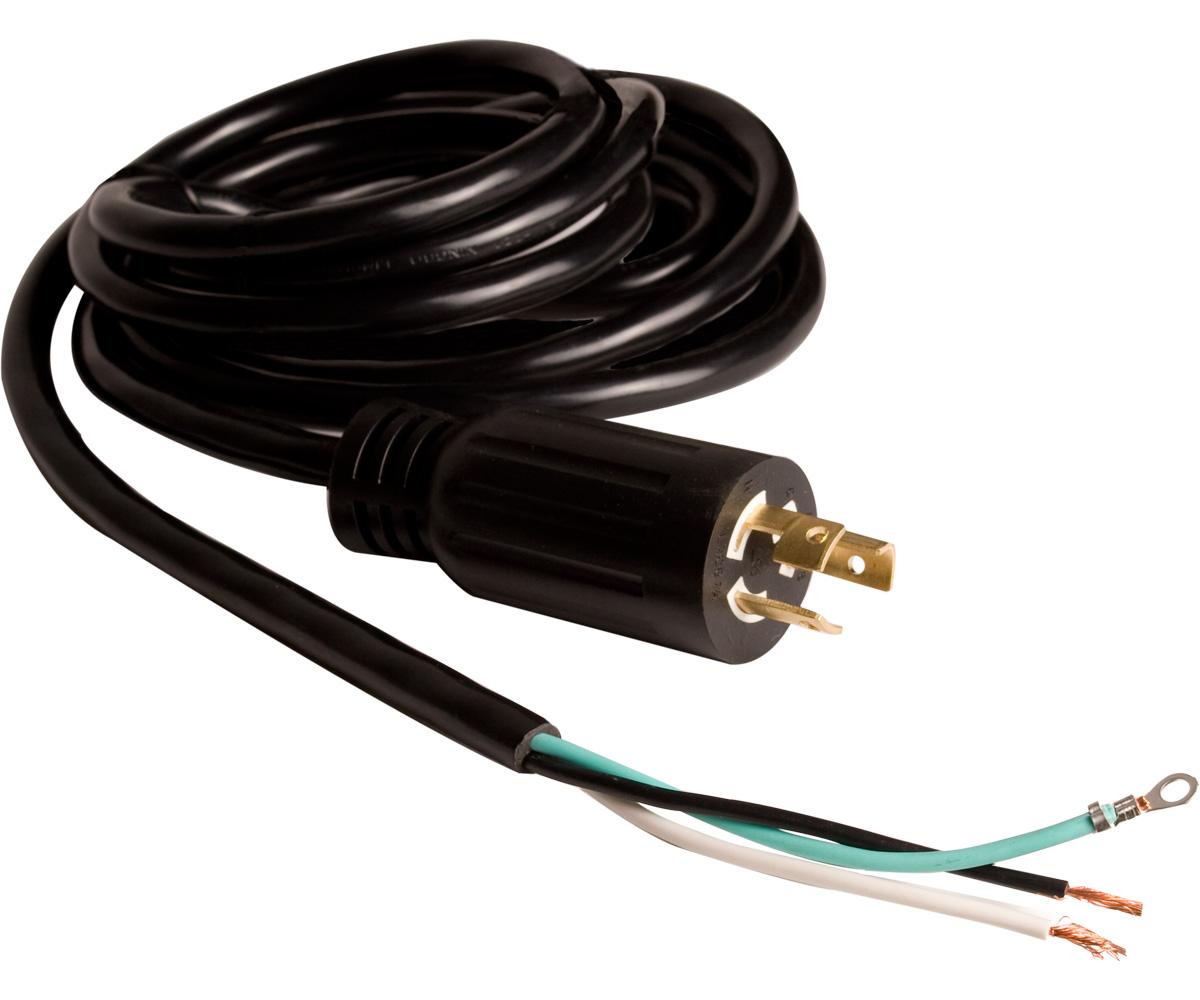 """Power Cord 277v & 6"""" Lead 16/3"""