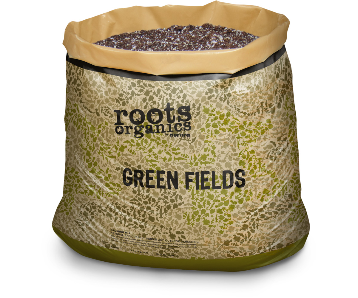 Roots Organics Greenfields Potting Soil, 1.5 cf