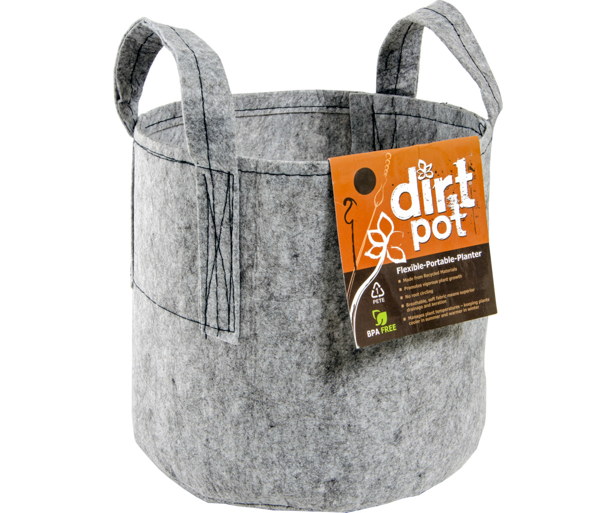 Dirt Pot 100 Gal w/Handle (5/pk) (10/cs)