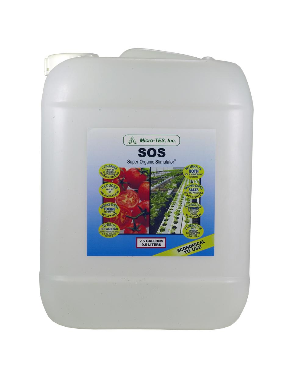 SOS Beneficial Bacteria 2.5 Gal