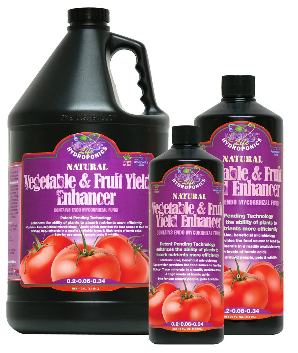 Vegetable & Fruit Yield Enhancer 2.5 Gallon