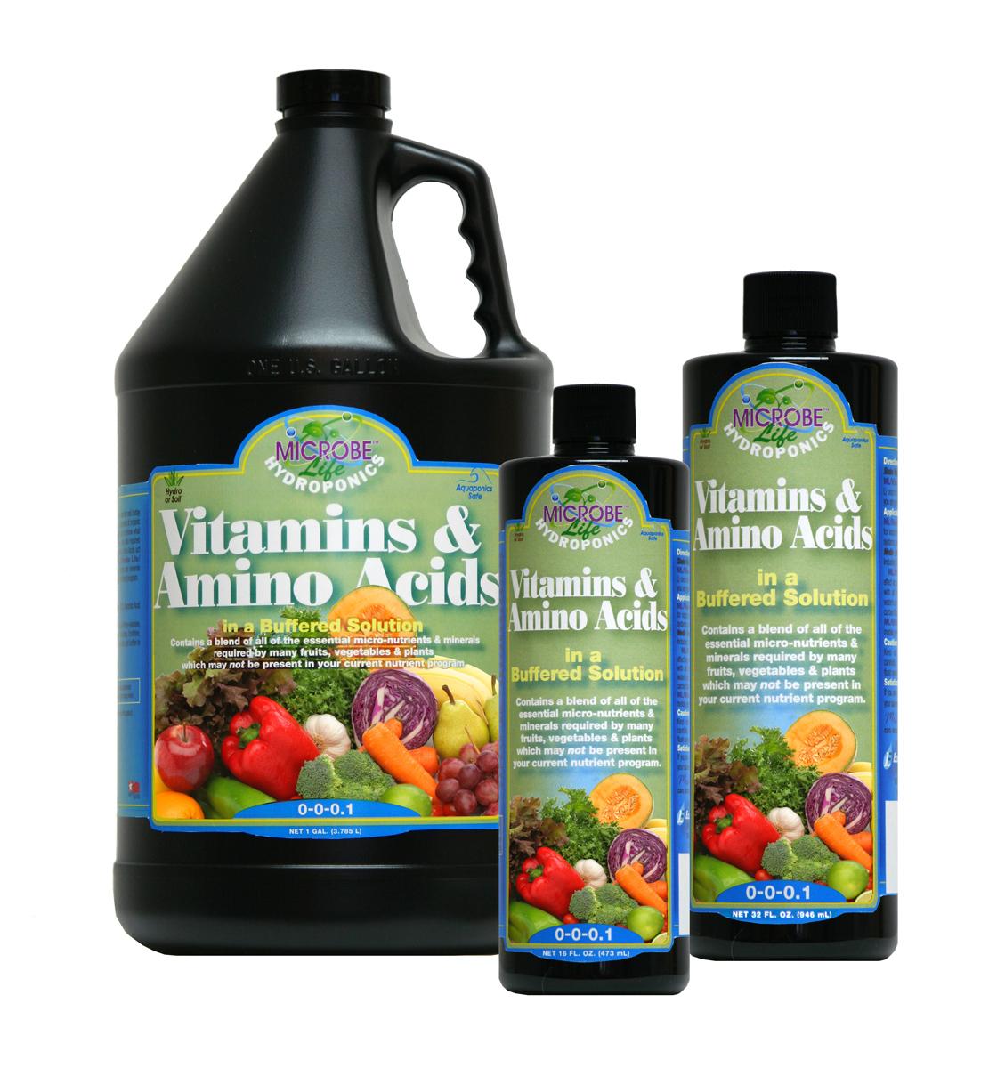 Vitamin & Amino Acids 2.5 Gal