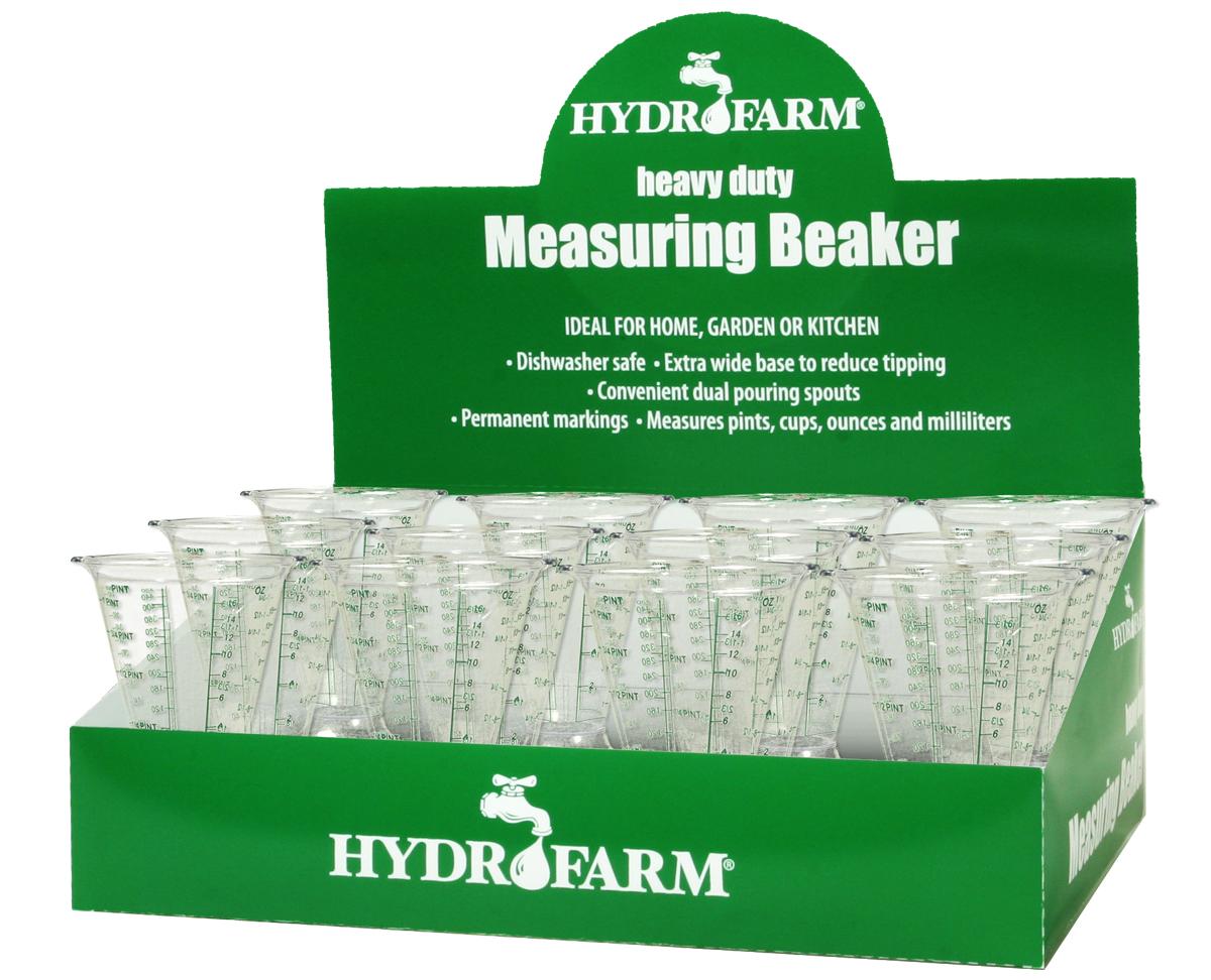 Hydrofarm Measuring Beaker, case of 12