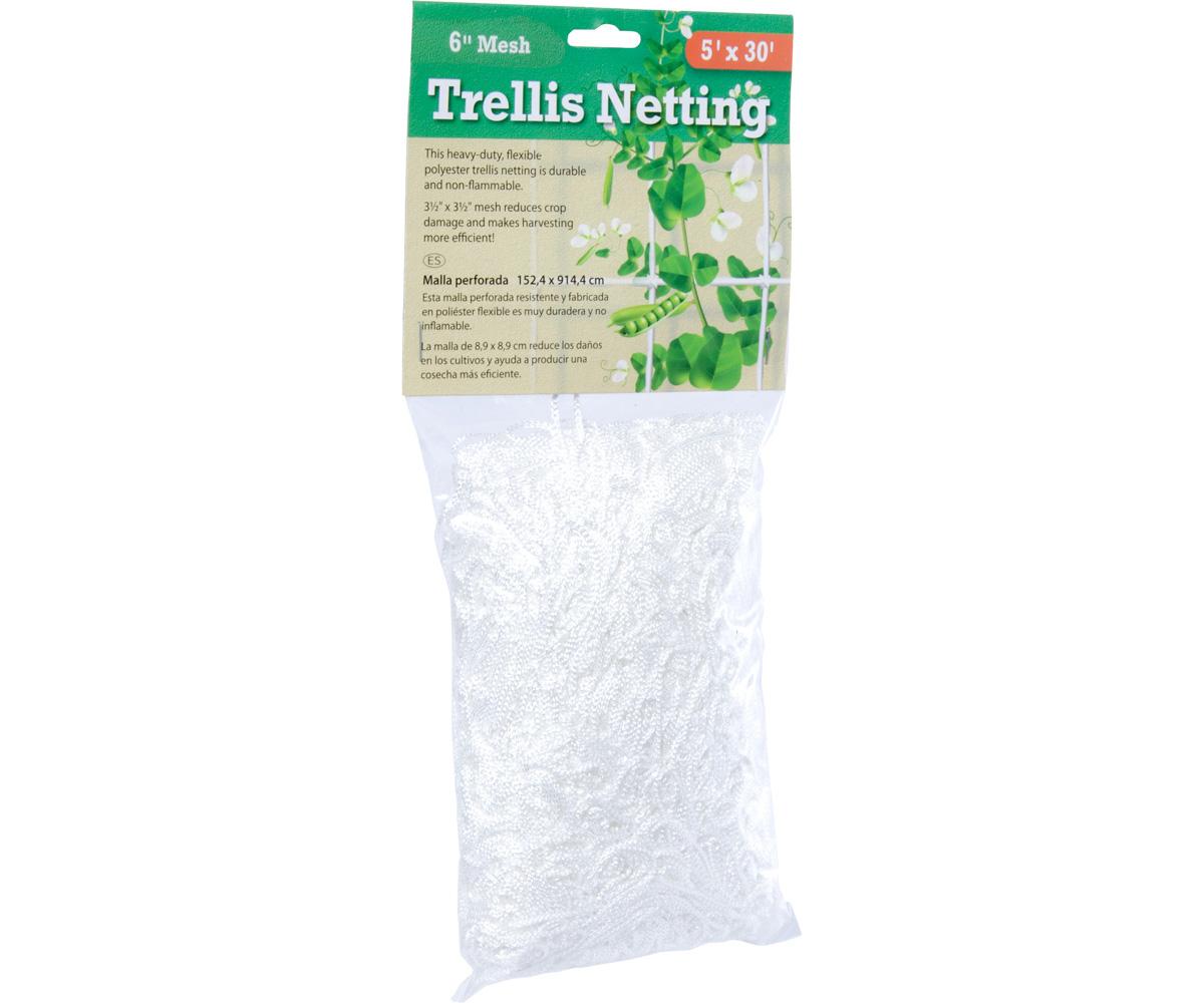 "Trellis Netting 3.5"" Mesh, 5'x15'"