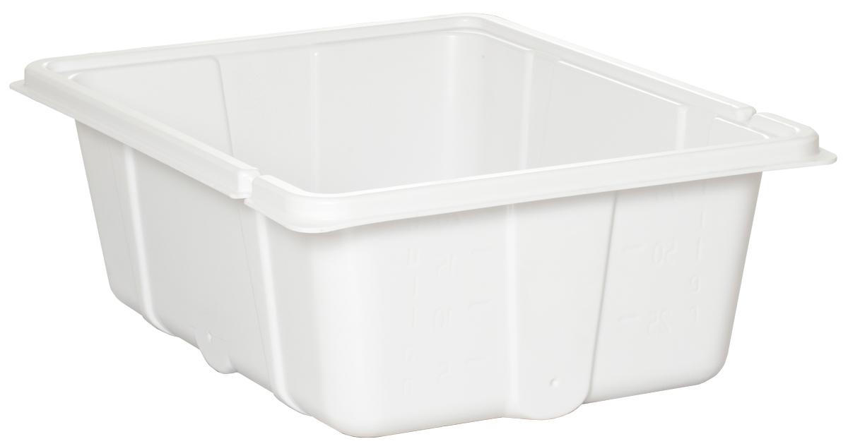 20 Gal Res Bottom Premium White