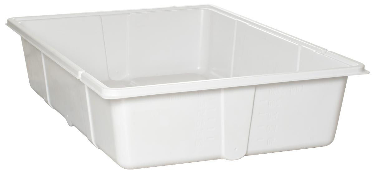 70 Gal Res Bottom Premium White