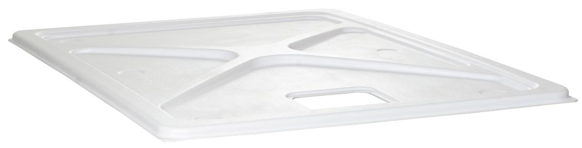 70 Gal Res Cover Premium White