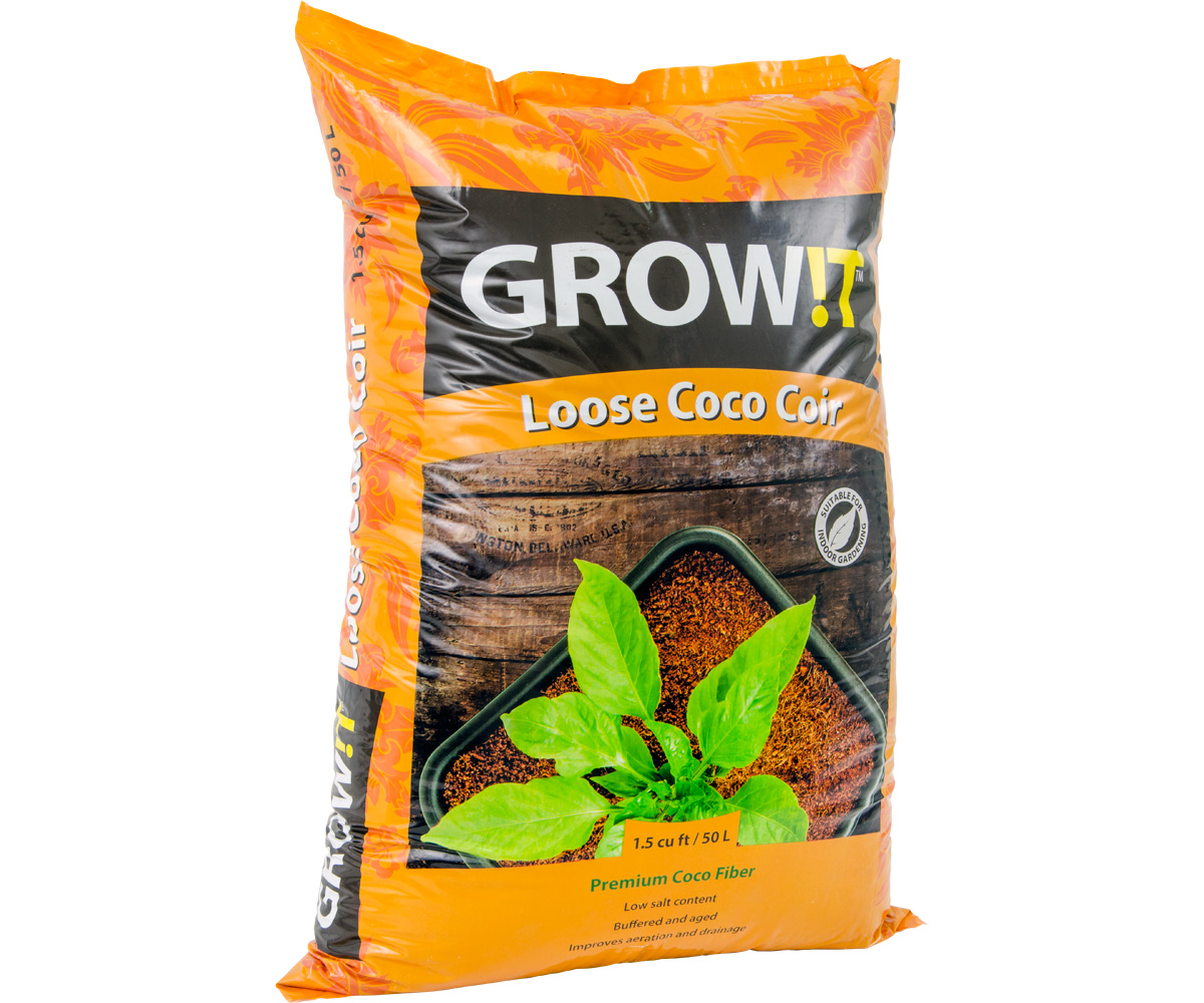 GROW!T Coco Coir Loose 1.5 cf (90/plt)