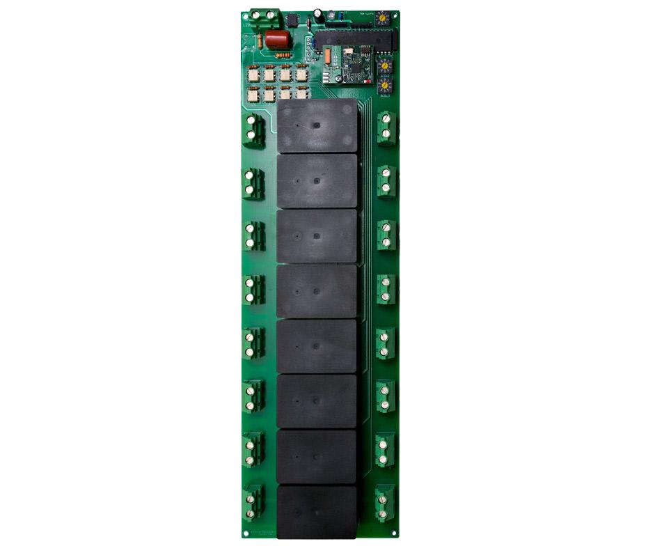 Eight Circuit Radio Panelboard