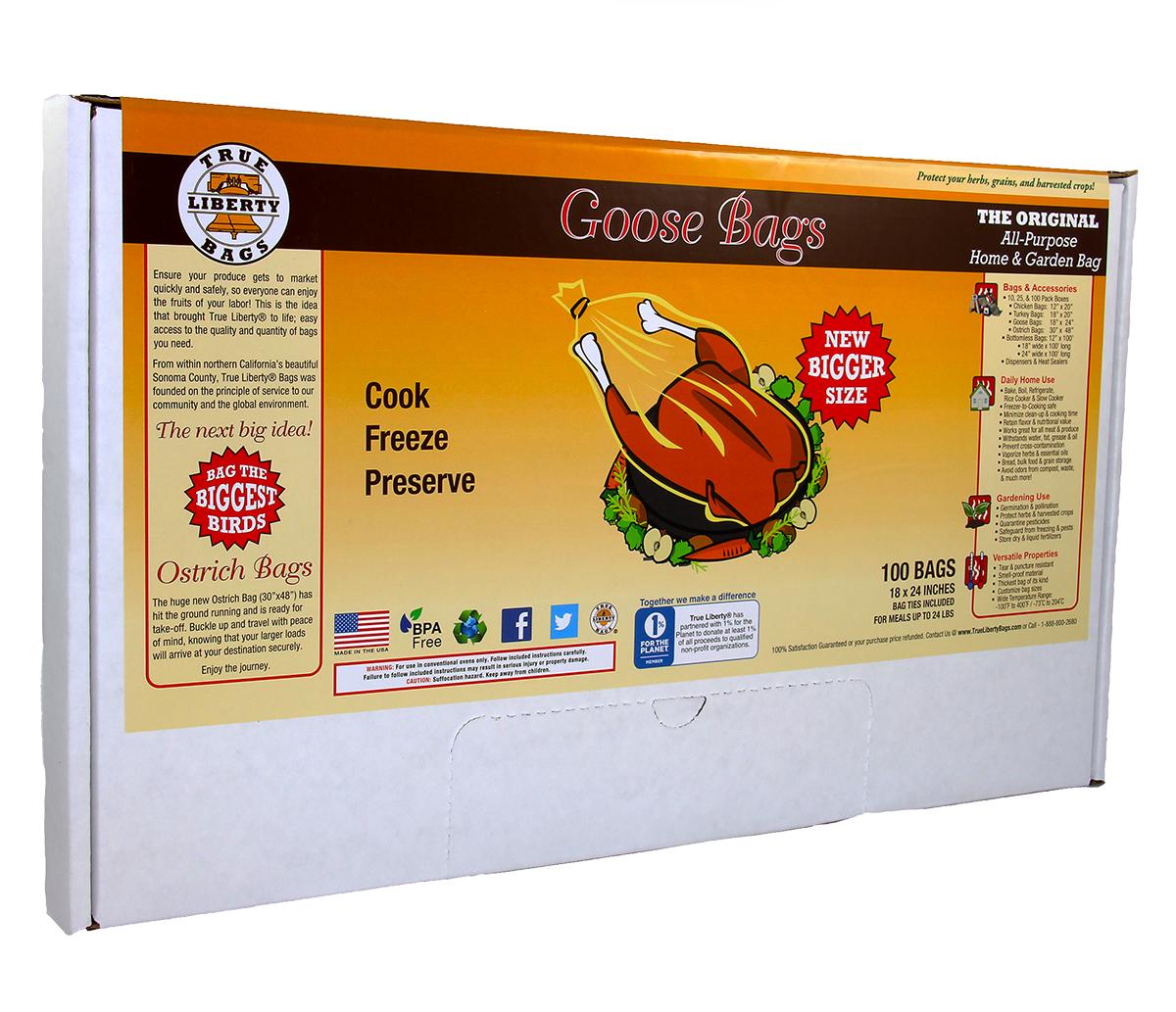 True Liberty Goose Bags (100/pk)