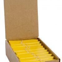 "Plant Stake Labels Yellow 4""x5/8"" 1000/CS"