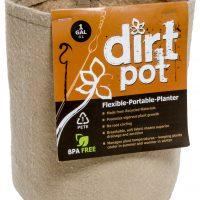 Dirt Pot Tan 1 Gallon (25/pk) (250/cs)