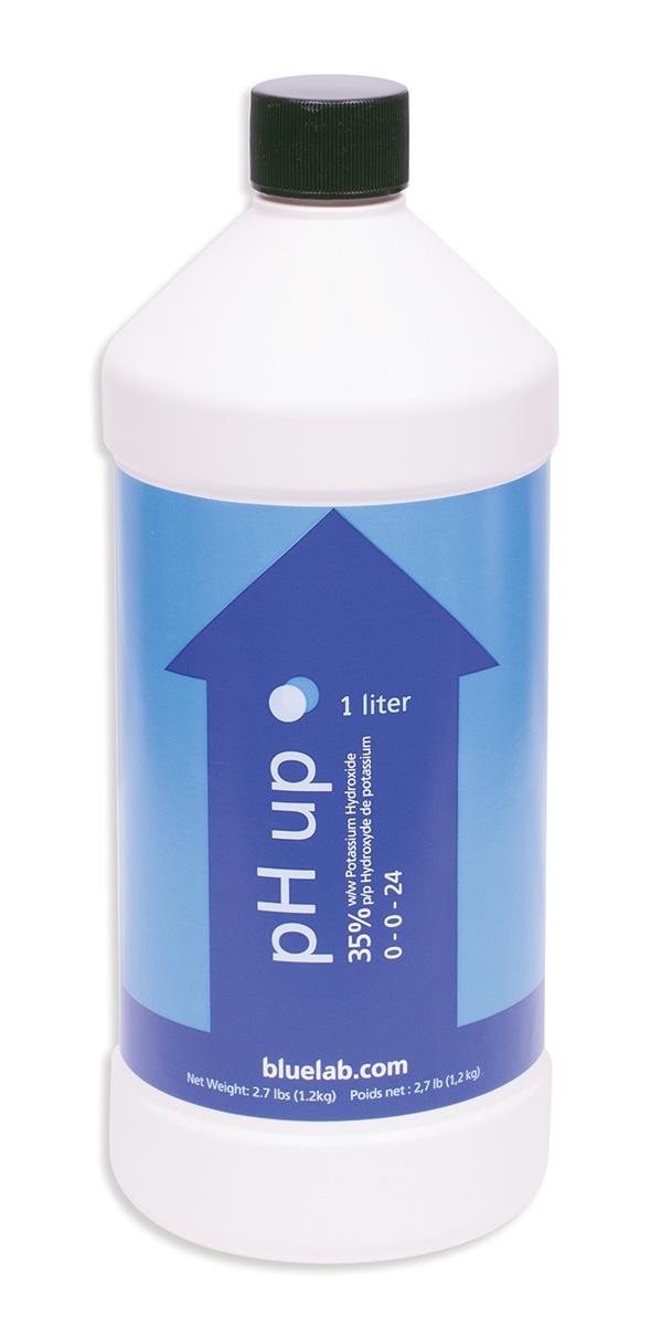 Bluelab pH Up 1 Liter Bottle (Case of 12)