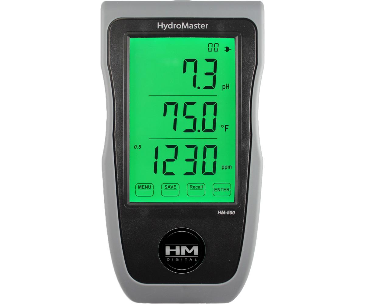 Continuous pH/EC/TDS/Temp portable/wallmount/bench