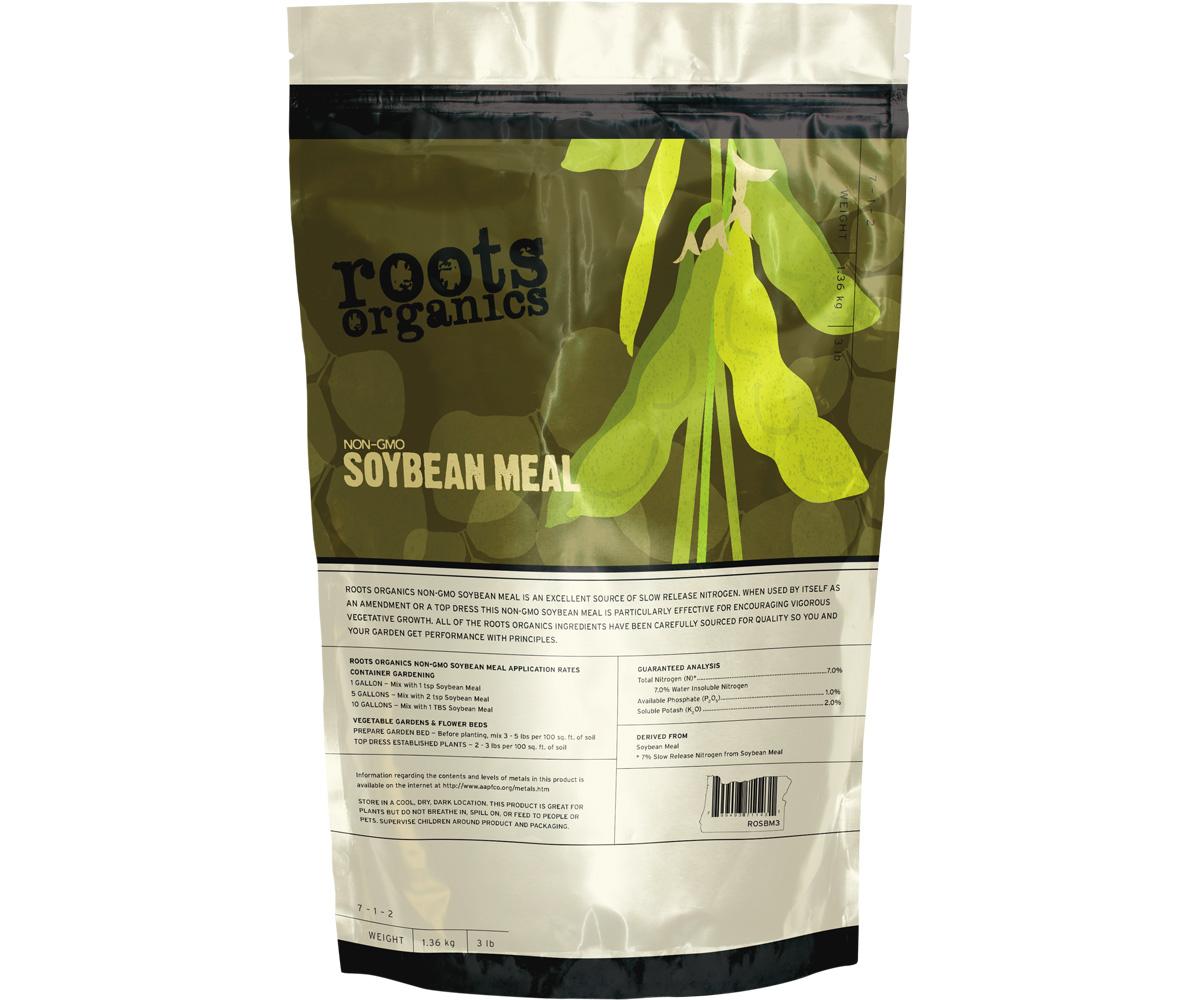 Roots Organics Non-GMO Organic Soybean Meal 40lb