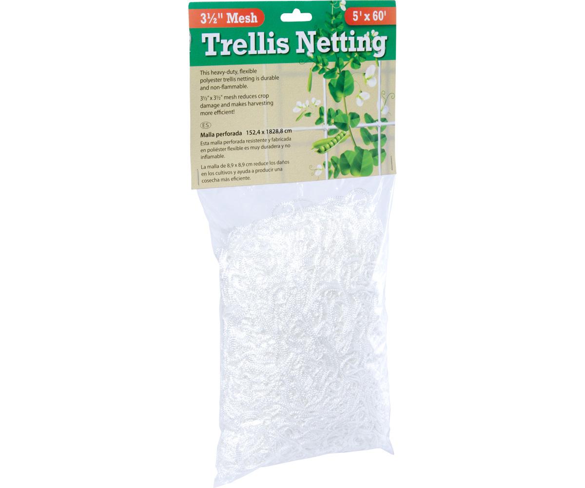 "Trellis Netting 3.5"" Mesh, 5' x 60'"