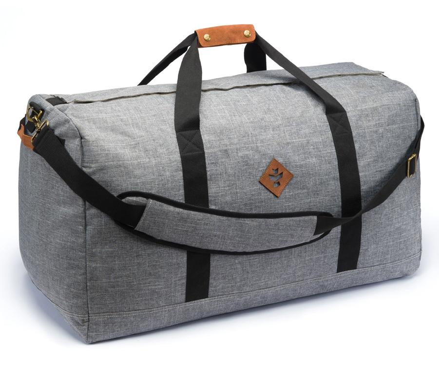 Continental - Crosshatch Grey, LG Duffle