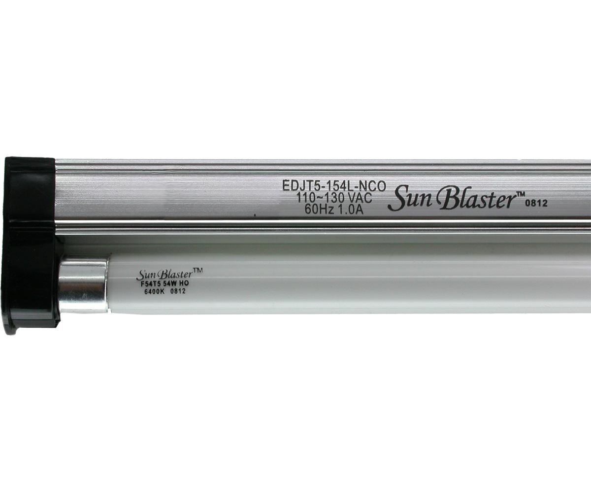 4' SunBlaster T5HO 54W 6400K Lighting Kit (6/cs)
