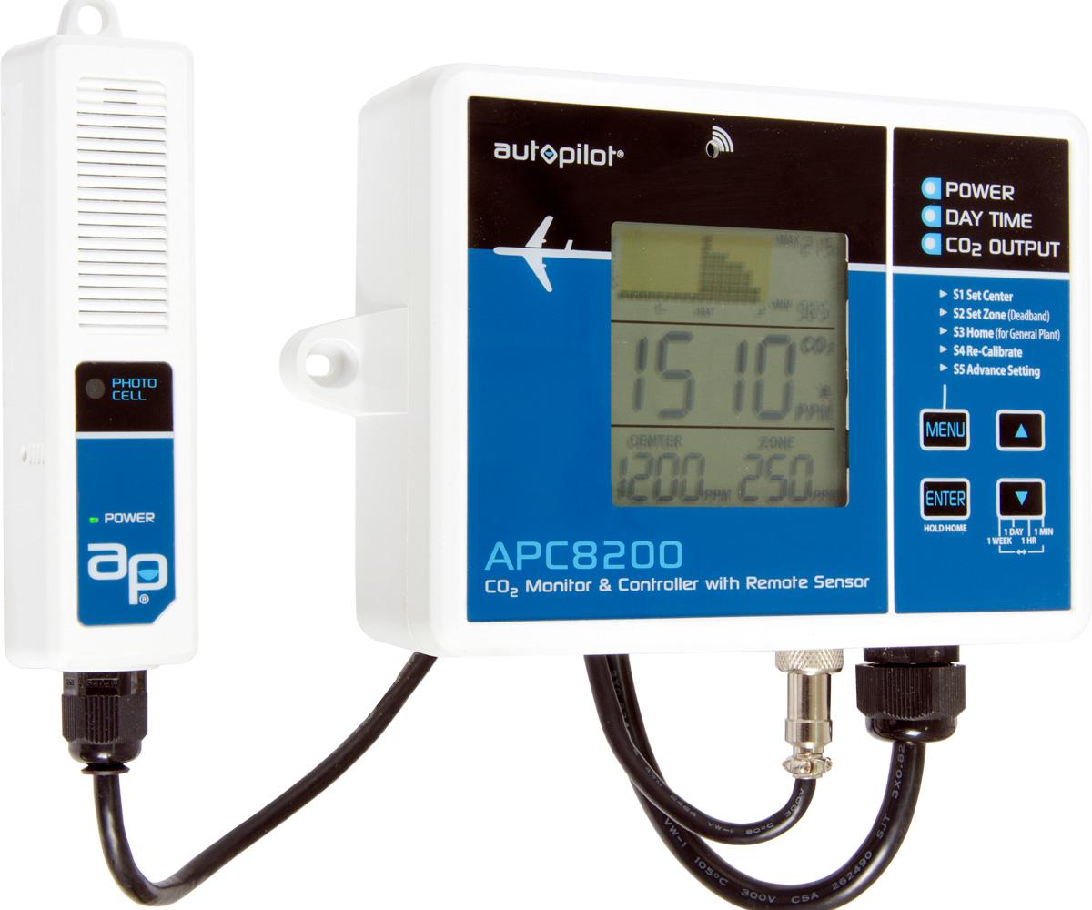 Digital CO2 Controller w/15' Remote Sensor (18/cs)