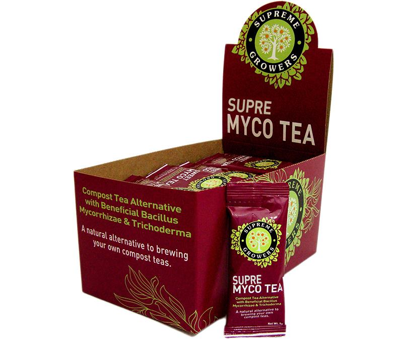 Supre Myco Tea, 5 g Box (50 Sticks)