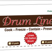 "55 Gallon Drum Liners 36"" x 48"" - 25 Pack"