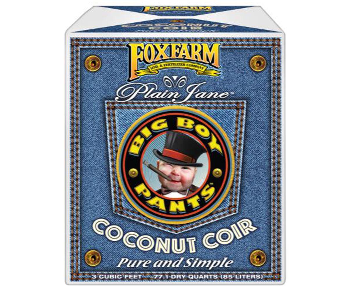 FoxFarm Plain Jane Big Boy Pants Coconut Coir 3.0 cu ft (com