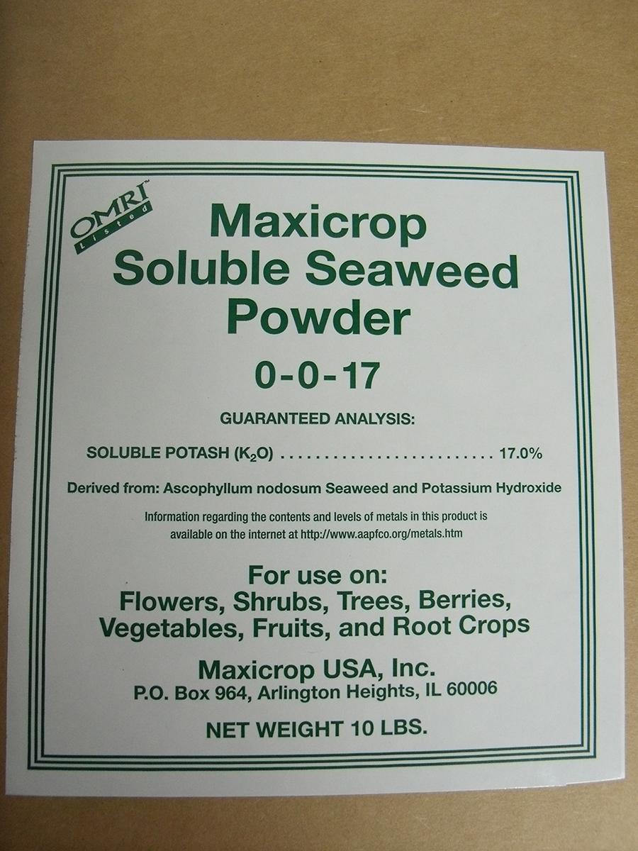 MaxiCrop Soluble Powder 10 lb.