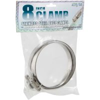 """Stainless Steel Duct Clamps - 8"""""""