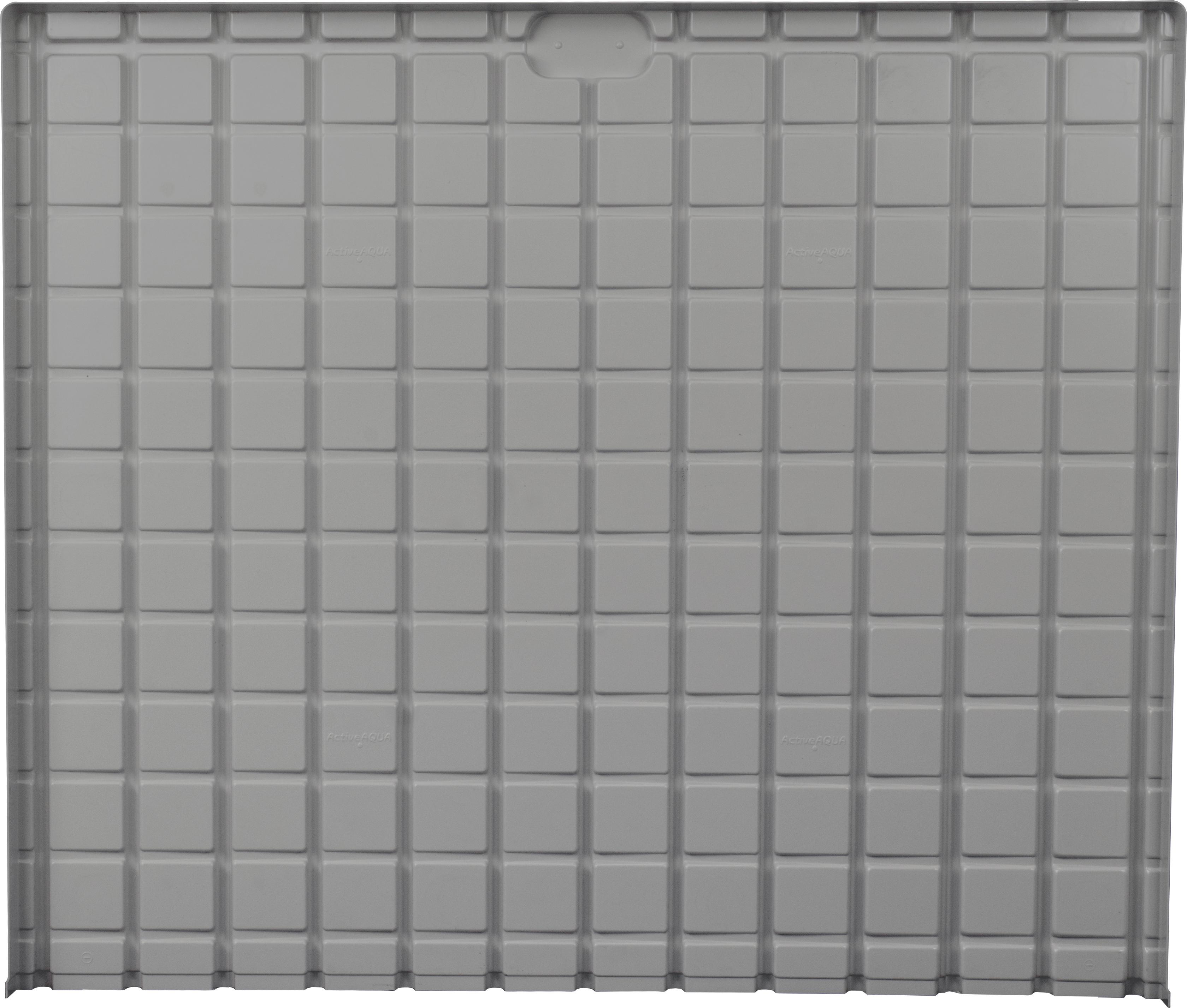 AA Infinity Tray End, Gray, 6.5'x5' Minus (-)