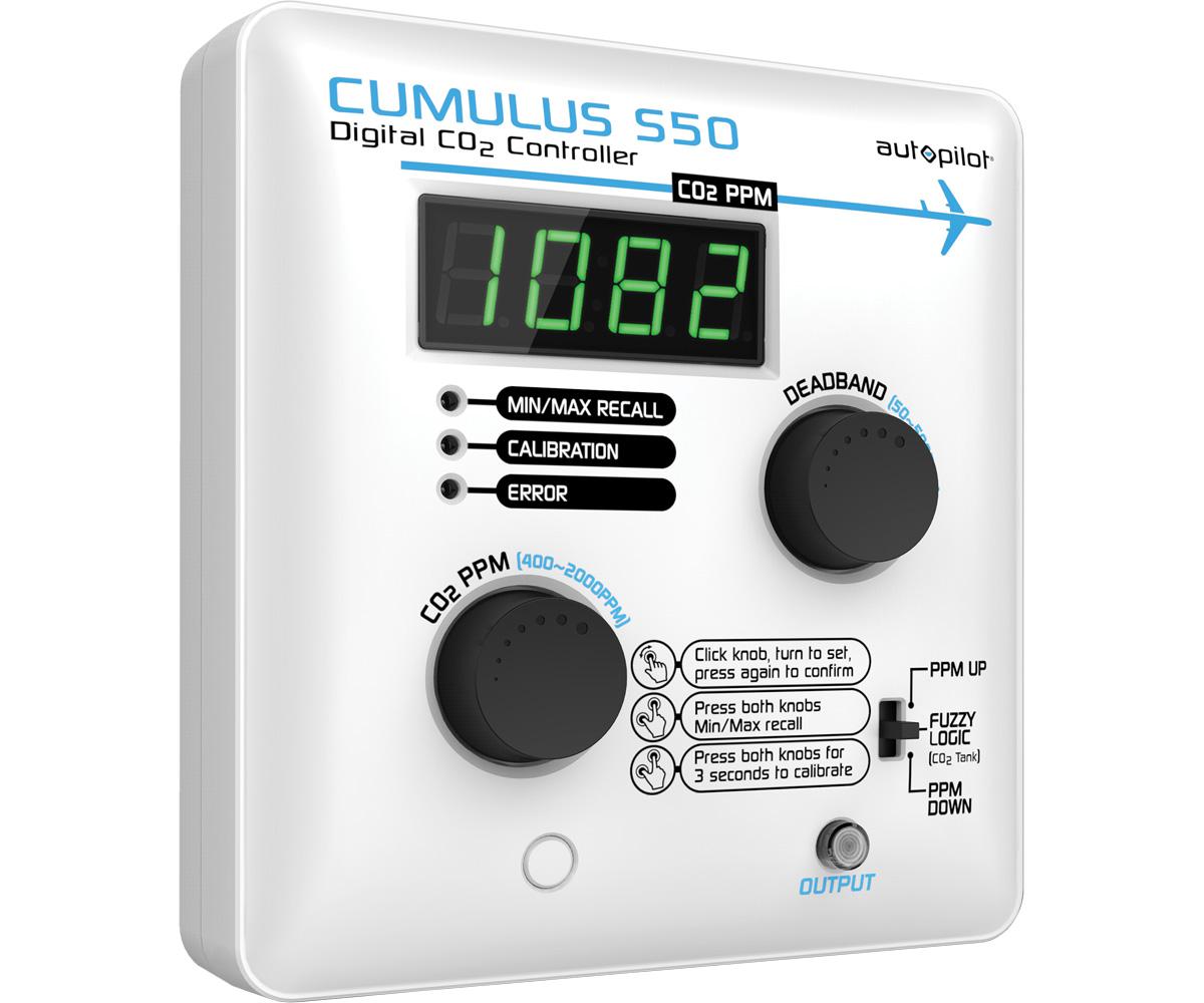 CUMULUS S50 Digital Co2 Controller - 14.5 amps/120