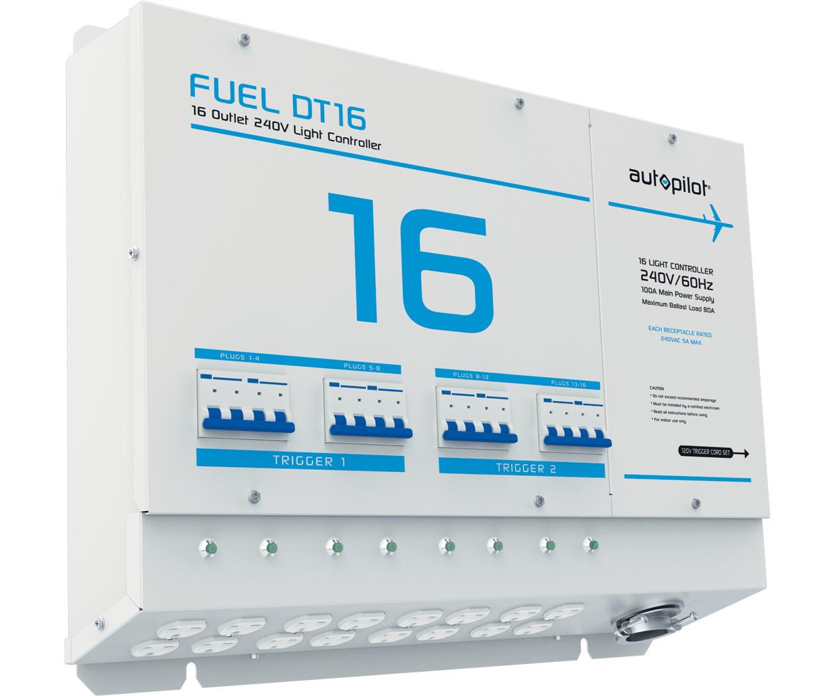 FUEL DT16 Light Controller - 16 Outlet, 240V w/Dual Triggers