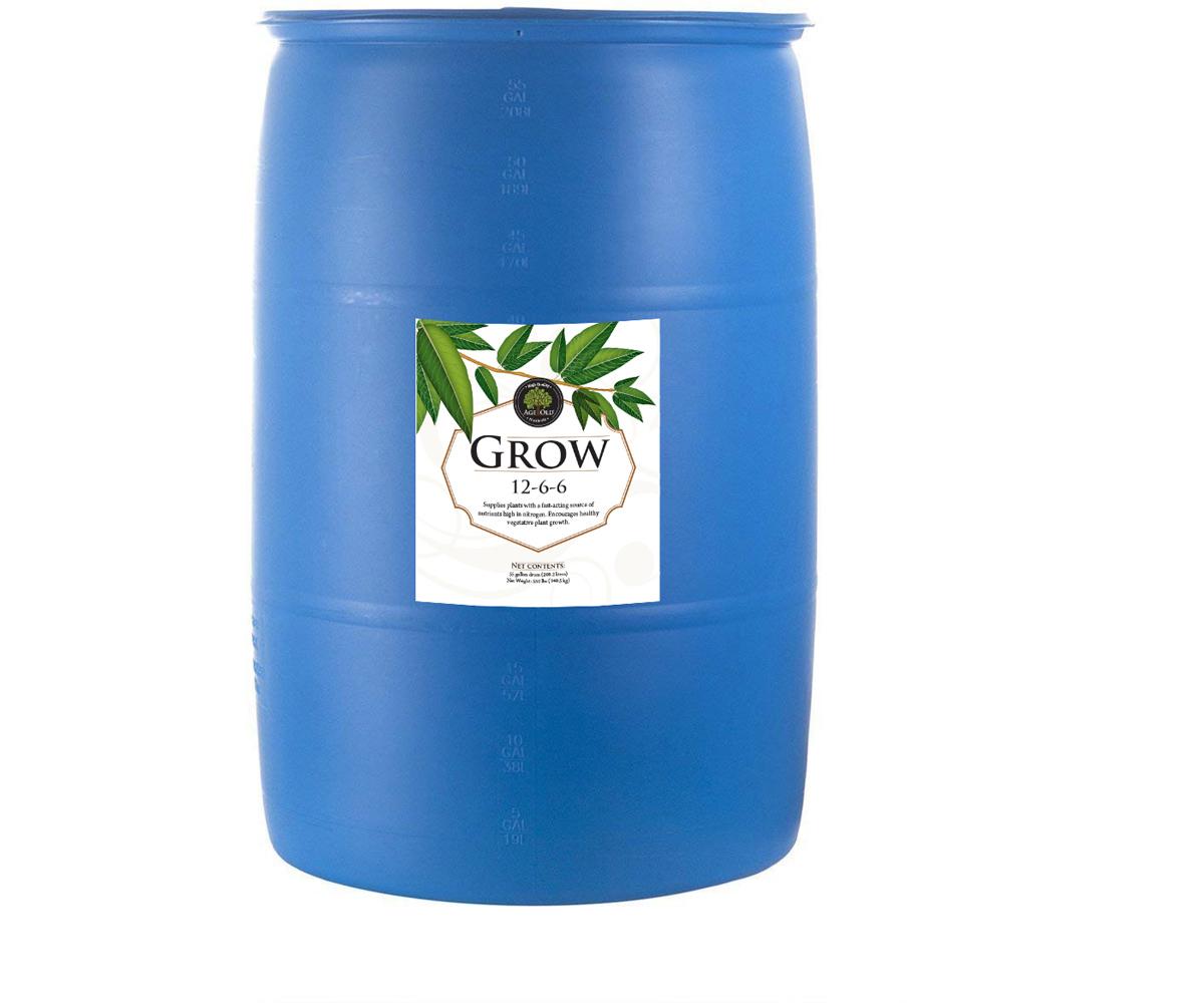 Age Old Grow 55 gal Drum