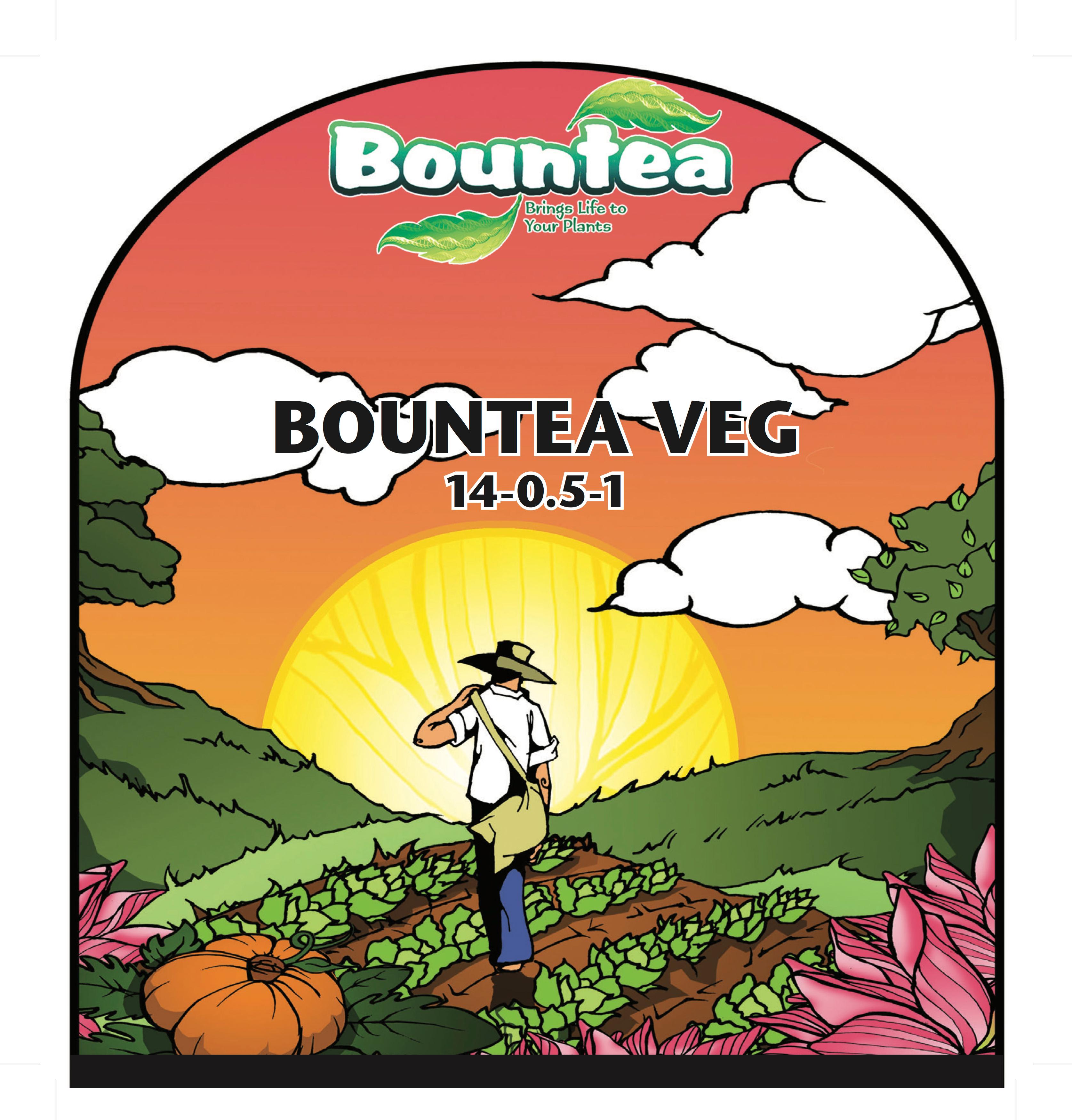Bountea Liquid Veg 1 Gal