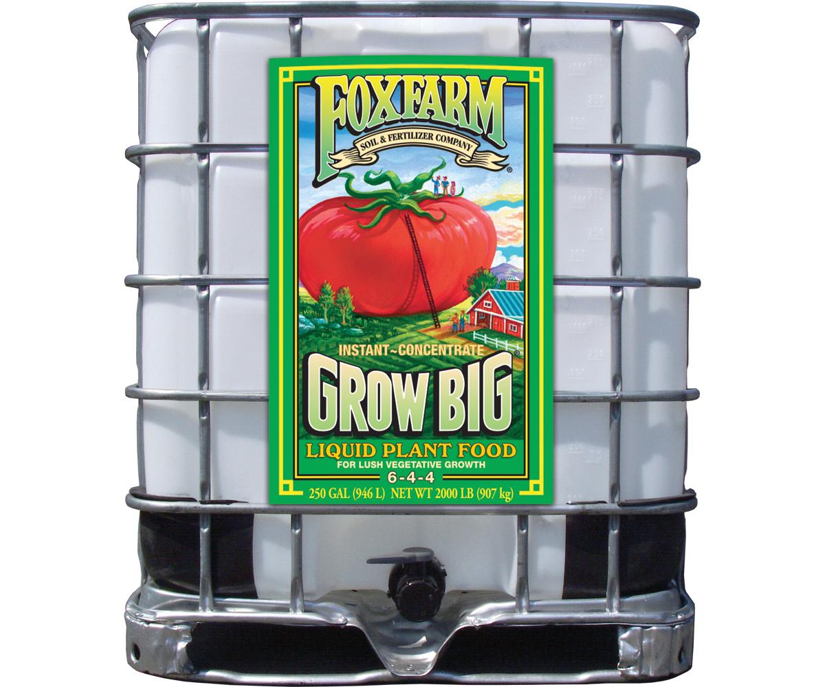 Grow Big Liquid Concentrate, 250 gal