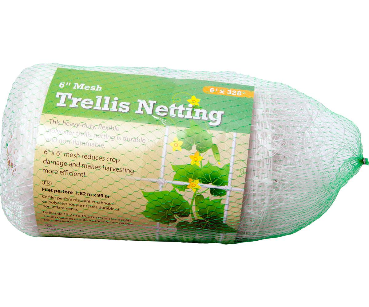 "Trellis Netting 6"" Mesh, 6' x 328' (4/cs)"
