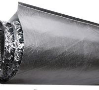 "Heat Shield for 8"" Ducting - 10' Long"