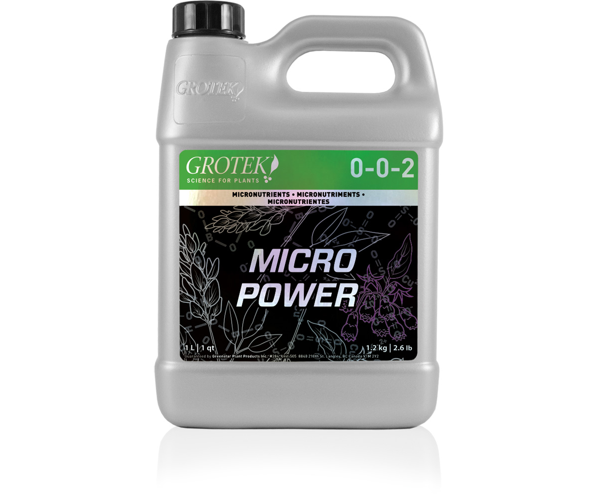 Grotek MicroPower, 4L