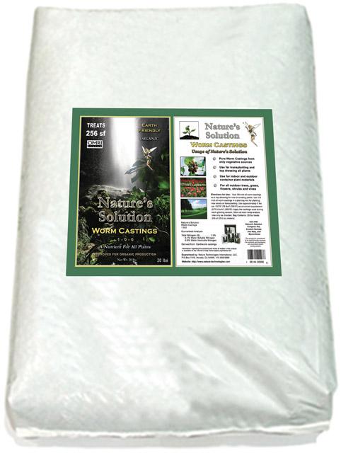 Organic Worm Casting 20 LB