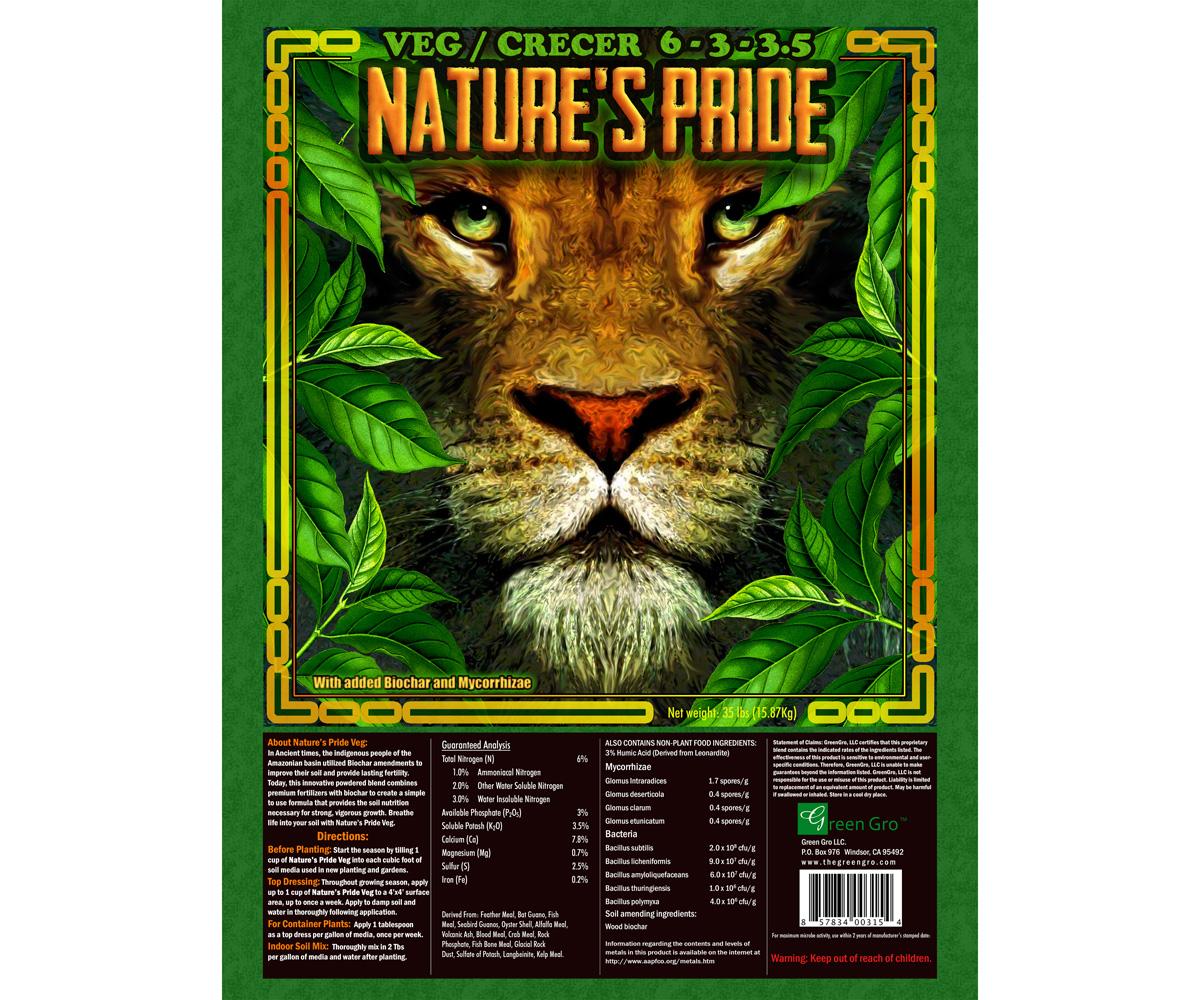 Natures Veg Fertilizer 1000lbs