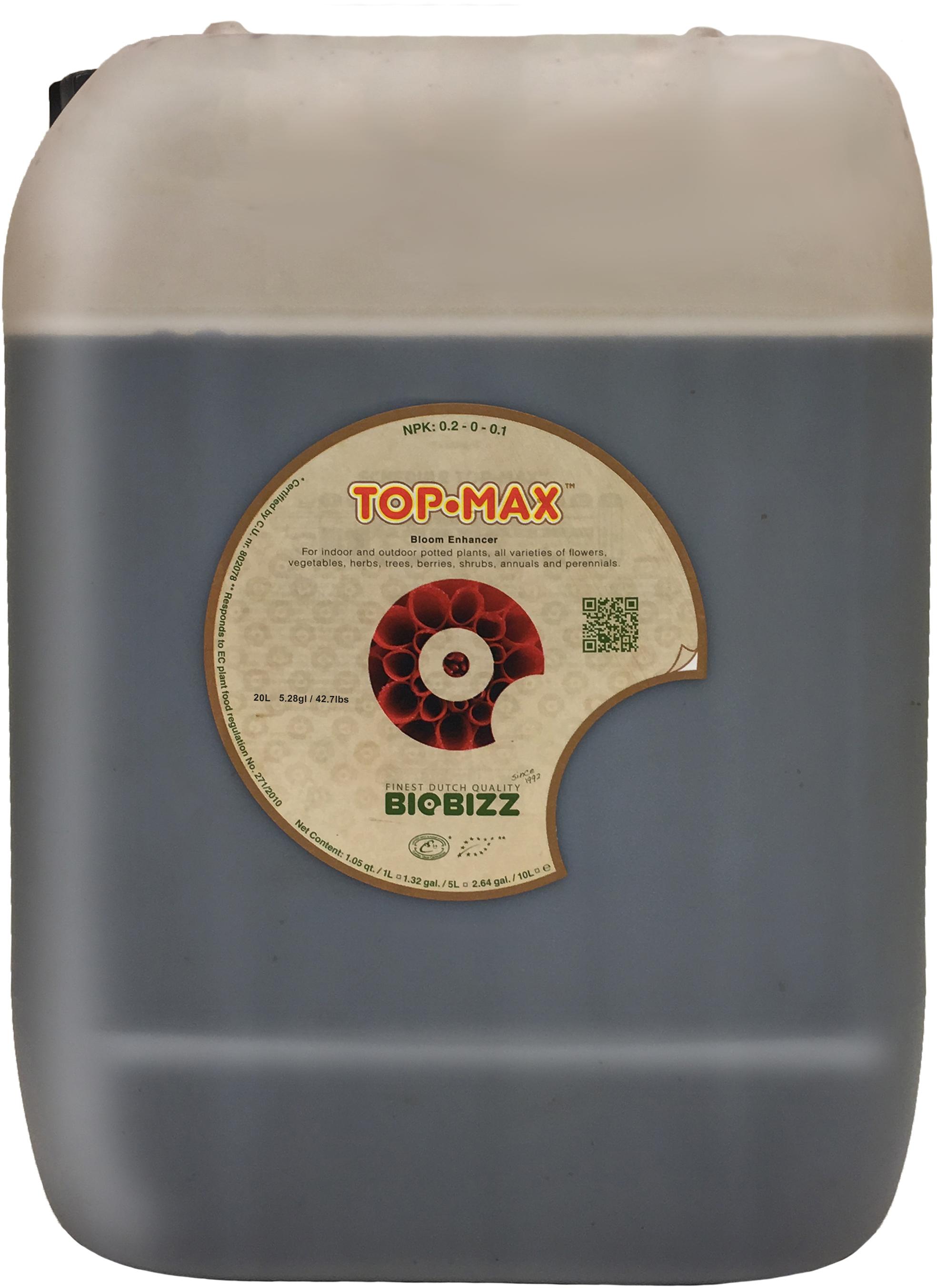 Biobizz Top-Max 20L