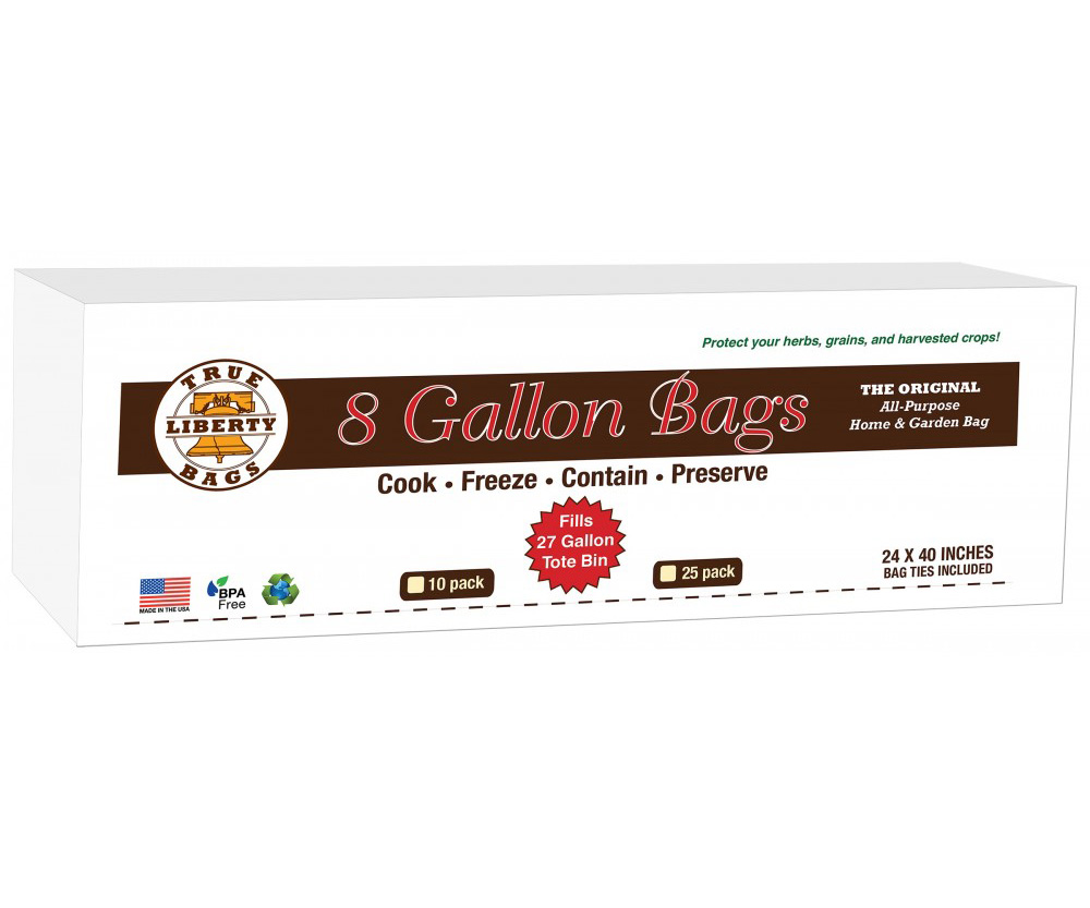 """8 Gallon Bags 24"""" x 40"""" - 10 Pack"""
