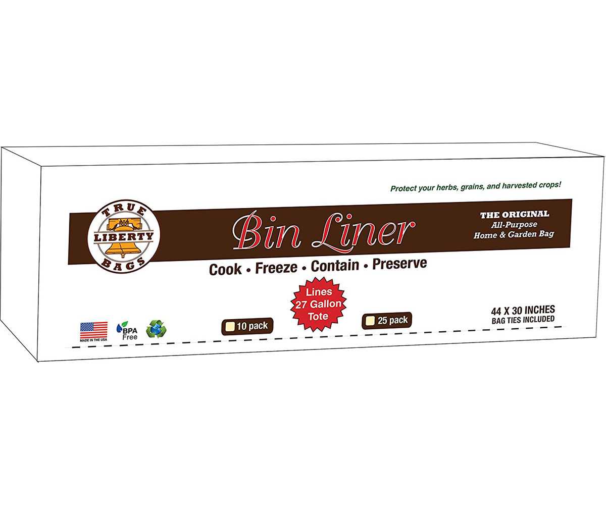 "True Liberty Bin Liner 48"" x 30"" - 25 Pack"