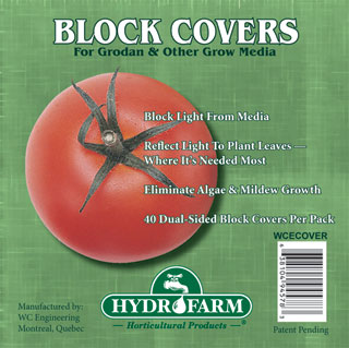 "4"" Rockwool Block Cover, pack of 40"