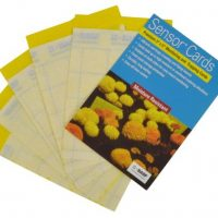 Sensor Cards Yellow Monitoring and Trapping Cards 50/Pack (15/Cs)