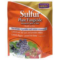 Bonide Sulfur Plant Fungicide Micronized Spray or Dust RTU 4 lb (12/Cs)
