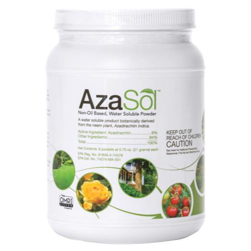 Arborjet AzaSol Container 0.75 oz - 8/Pack (4/Cs)