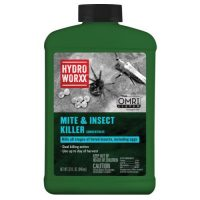 HydroWorxx Mite and Insect Conc. 32 oz (12/Cs)
