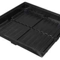 Flo-n-Gro Easy Clean Tray - 4 ft x 4 ft OD - Black