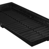 Flo-n-Gro Easy Clean Tray - 4 ft x 8 ft OD - Black